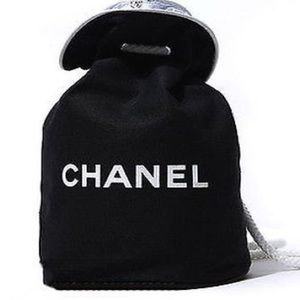 Chanel Cosmetic Makeup Gift- Drawstring Backpack
